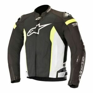 Alpinestars T-Missile Air Jacket Tech-Air Compatible 2X Black/White/Yellow