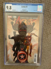 Avengers (Volume 7) #40 CGC 9.8 Sway team variant Black Panther Captain America