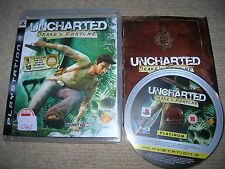 UNCHARTED 3 : DRAKE`S FORTUNE  - Rare Sony PS3 Game