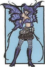 AMY BROWN Pandemonium Fairy Embroidered Iron On PATCH OFFICIAL MERCHANDISE