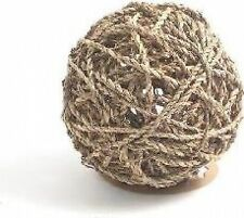 Rosewood Boredom Breaker Small Animal Activity Toy Sea Grass Fun Ball Large