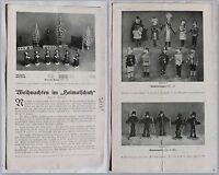 """Katalog Weihanchten im """"Heimatschutz"""" Dresden um 1920 -Volkskunst Weihnachten xz"""