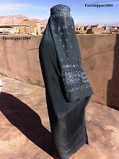 GENIAL Afghanistán burka Hijab Niqab Chador abaya musulmán mujer niña vestido
