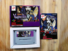 Castlevania Vampire's Kiss-Boxed SNES PAL EUR Super Nintendo-Repro A + + Grade