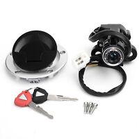 Ignition Switch Fuel Gas Cap Lock Set for Kawasaki Ninja 650 400R ZX14R 12-17 T6