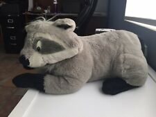 "Vintage Disney Mattel MEEKO Jumbo 36"" Plush Large Stuffed Pocahontas Raccoon"