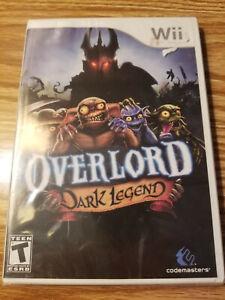 Overlord: Dark Legend (Wii, 2009) BRAND NEW SEALED