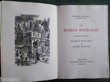 Antoine FURETIERE Le Roman Bourgeois ILL. Jacques BOULLAIRE 1/200 ARCHES + SUITE