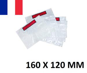 50X Pochette Transparente Porte Document 160x120mm Adhésive Document Ci-Inclus