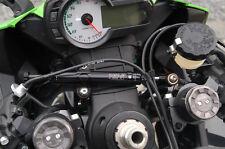 Kawasaki ZX6R 2009 -2015 Toby Steering Damper Stabilizer & Mount Kit BLUE