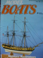 April Model Boats Hobbies & Crafts Magazines in English