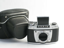 Vintage DDR Kamera Exa I a ( Ia / 1a) mit Lichtschachtsucher und EXA Bajonett