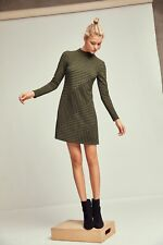 Structured Knitwork Dress By Hutch Size SP PS NWT Fabulous Rare Favorite!
