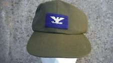 Cap, Hot Weather OG-106 Size 7 & 3/8 with USAF Colonel's Insignia From COL Auld