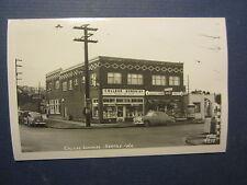 Old c.1950's College Sundries Soda Fountain STORE RPPC Photo POSTCARD Seattle WA