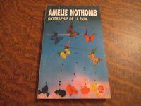 le livre de poche biographie de la faim - AMELIE NOTHOMB