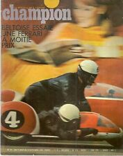 CHAMPION 32 1968 FERRARI 250 GT LUSSO 1964 MOTO MV 100 LINCOLN MOTO ASSEN SPA