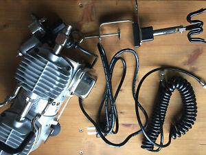 Airbrush-Set -- Kleinkompressor TC-2000 Sparmax, Airbrush Evolution Two in One.