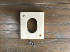 PREDATOR GUARD FOR BLUEBIRD HOUSES with OVAL OPENING