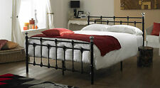 Oxford Double 4ft 6inch Black Metal Bed  ** FRAME ONLY **