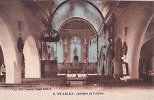 ETABLES 6 intérieur de l'église coll camard