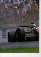 W10 Ritaglio Clipping 1993 Formula 3000 l'incontro di Parigi la via di fuga