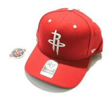 NBA Houston Rockets 47 Brand Adjustable Red Cap Hat