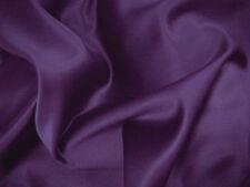 Purple Duchess Satin Bridal Wedding Dress Fabric150cm Wide SOLD PER METRE