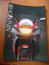 Kawasaki ninja ZX-9R sales brochure 99948-1198