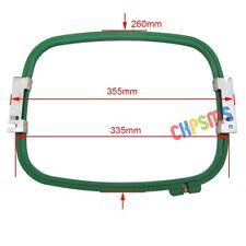 "1Set Embroidery Hoop (1 frame+1 ring) 335MM*260MM- 355MM Wide (14"") For Tajima"