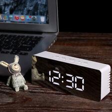 Temperatur LED Digitale Wecker Multifunktions Elektronische Alarm Clock Uhr Weiß
