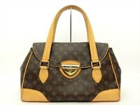 Louis Vuitton Authentic Monogram BEVERLY GM Shoulder Hand Bag LV