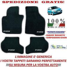 Tappeti Hyundai Getz, Tappetini Auto Personalizzati, Scegli Colori e Qualità!