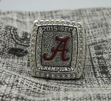 NCAA 2015 Alabama Crimson Tide SEC National Football Championship Ring 8-14Size