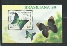 "CAMBOYA. Año: 1989. Tema: ""BRASILIANA-89""."