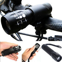 240LM Q5 LED Zoomable Bike Cycling Bicycle Head Light Front Torch Lamp w/ Mount