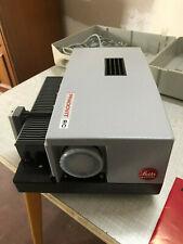 Leitz Diaprojektor Prodovit RC mit Koffer Kabel Fernbedienung Beschreibung NEU
