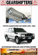 OUTBACK ACCESSORIES ROOF CONSOLE 4X4 TOYOTA LANDCRUISER 100 SERIES GXL 98 TO 02