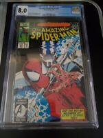 Amazing Spider-Man #377 (Marvel) CGC 8.0, Cardiac App. Free Shipping!