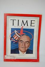 TIME Magazine Apr 1950 Eddie Rickenbacker WWI American fighter Ace (UFO article)