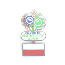 WM Germany 2006 FIFA World Cup Pin Yello Strom Anstecker Fussball #271