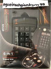 ATIVA MOBIL-IT NOTEBOOK TRAVEL KIT NIB AN ESSENCE 4 A REMOTE OFFICE / ON THE GO