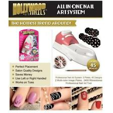 New Fashionable Hollywood Nails All in One Nail Art System Kit Profession Tool