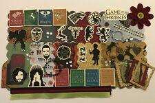 Game of Thrones Chipboard Mini Book Album DIY Kit Scrapbooking