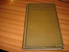 Initialen Studies in Amerikanisch Briefe von Henry A Beers 1899 Ausgabe