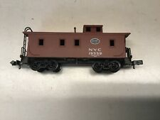 "N scale ""NYC"" caboose with Rapido couplers Rd. #19559"