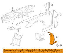Chevrolet GM OEM Corvette Fender-Wheel Well Flare Molding Ext Left 20882669