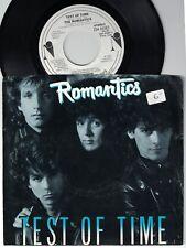 1985 ROMANTICS TEST OF TIME & MAKE A MOVE NEMPEROR PROMO 45 & PICTURE SLEEVE NM