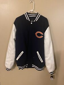 Nwt NFL Chicago Bears Reversible Jacket 2XL