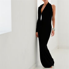One Shoulder Long Sleeves Mermaid Formal Evening Party Prom Gown Maxi Dresses